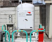 災害対応型LPガスバルク供給システム