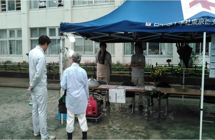 平成30年度 羽村市総合防災訓練への参加について