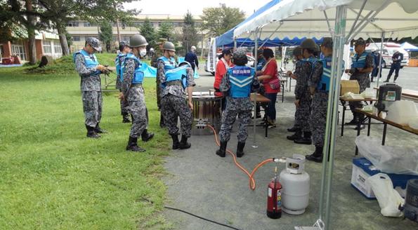 令和元年度 羽村市総合防災訓練
